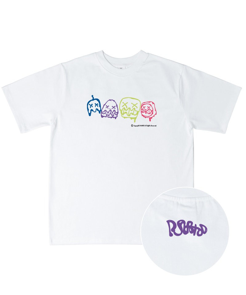 Monster_white t-shirts